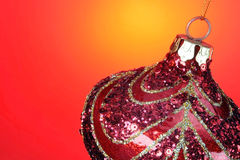 Christmas Bulb. Ready for you type to be added Royalty Free Stock Images