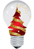 Christmas bulb Stock Image