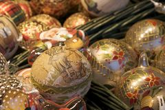 Christmas Bulbs Royalty Free Stock Photography