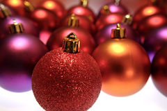 Christmas Bulbs Royalty Free Stock Photography