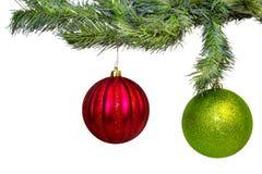 Christmas Bulbs Stock Image