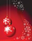 Christmas bulbs Stock Photo