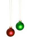 Christmas Bulbs Royalty Free Stock Photos