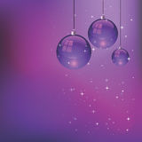Christmas bulbs. EPS 8.0 file available Royalty Free Stock Photo