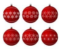 Christmas bulbs Stock Photos