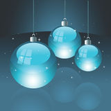 Christmas bulbs. EPS 8.0 file available royalty free illustration