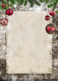 Christmas bulletin board Stock Images