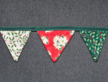 Christmas bunting Royalty Free Stock Image