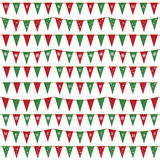 Christmas bunting pack Stock Photo