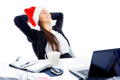 Christmas business Royalty Free Stock Photography