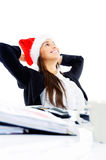 Christmas business Stock Photo