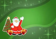 Christmas business background Royalty Free Stock Photo
