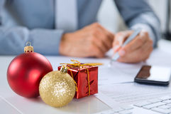 Christmas Business Royalty Free Stock Photos
