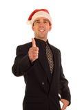 Christmas Businessman Stock Photo