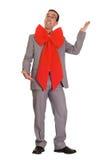 Christmas Businessman Royalty Free Stock Photo