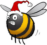 Christmas Busy Bee Royalty Free Stock Photos