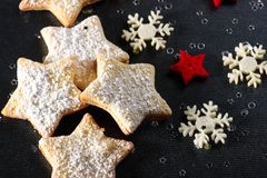 Christmas Butter Cookies Stock Photography
