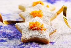 Christmas Butter Cookies Royalty Free Stock Photo