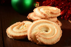 Christmas butter cookies Royalty Free Stock Photography
