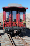 Christmas Caboose Royalty Free Stock Photography