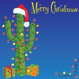 Christmas Cactus royalty free illustration