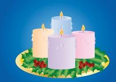 Christmas cadles Royalty Free Stock Photo