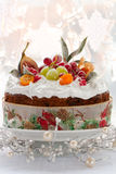 Christmas cake royalty free stock photos