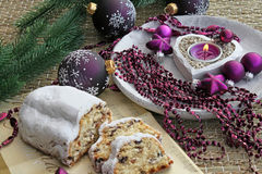 Christmas cake Stock Photo