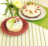 Christmas cake isolated