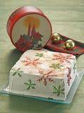Christmas cake. Beautiful and delicious christmas cake Royalty Free Stock Photos