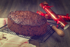 Christmas Cake Stock Images