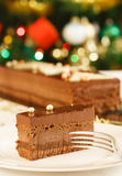 Christmas cake dessert Stock Photos