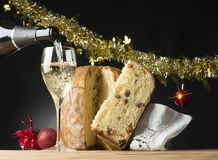 Christmas toast Stock Photography