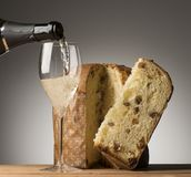 Toast for the holidays Stock Image