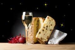 Christmas toast Royalty Free Stock Photos