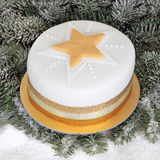 Christmas Cake Royalty Free Stock Photography