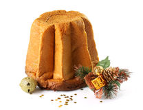 Christmas cake pandoro Stock Photo