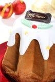 Christmas cake pandoro Royalty Free Stock Image