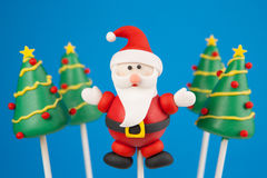 Christmas cake pop royalty free stock photography