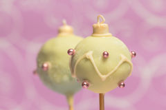 Christmas cake pops Stock Photography