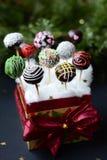Christmas cake pops royalty free stock photos