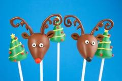 Christmas cake pops royalty free stock image