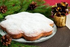 Christmas cake Stock Photography