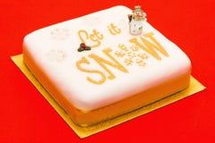Christmas cake Stock Photo