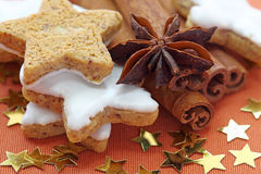 Christmas cakes Stock Photos
