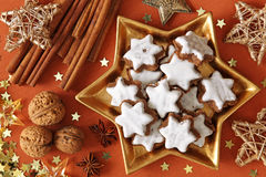 Christmas cakes Stock Photography