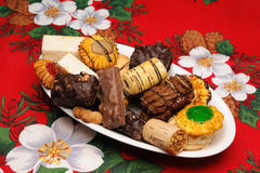 Christmas cakes Stock Photo