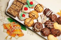 Christmas cakes Royalty Free Stock Photo
