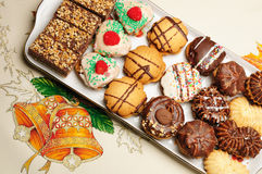 Christmas cakes Royalty Free Stock Image