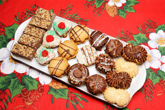 Christmas cakes Stock Photos